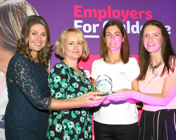 Highly Commended -Large Private Sector Family Friendly Employer Awards - cropp