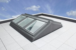 Keylite launches solution for creative flat roof window for X window system architecture